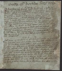 Þorsteins þáttr bæjarmagns (Manuscript Lbs 3625 4to, 1800-185)