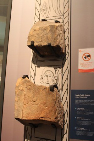 Weland Stone at Leeds City Museum.
