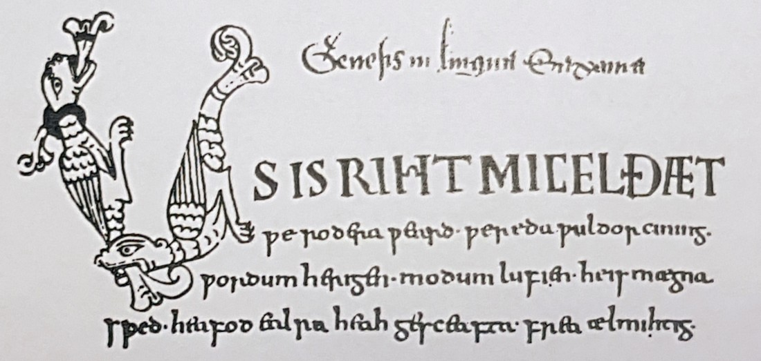 Northumbrian Age Anglo Saxon writing
