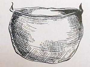 Northumbrian Age cauldron