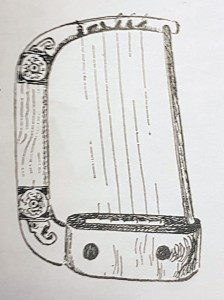 Northumbrian Age harp