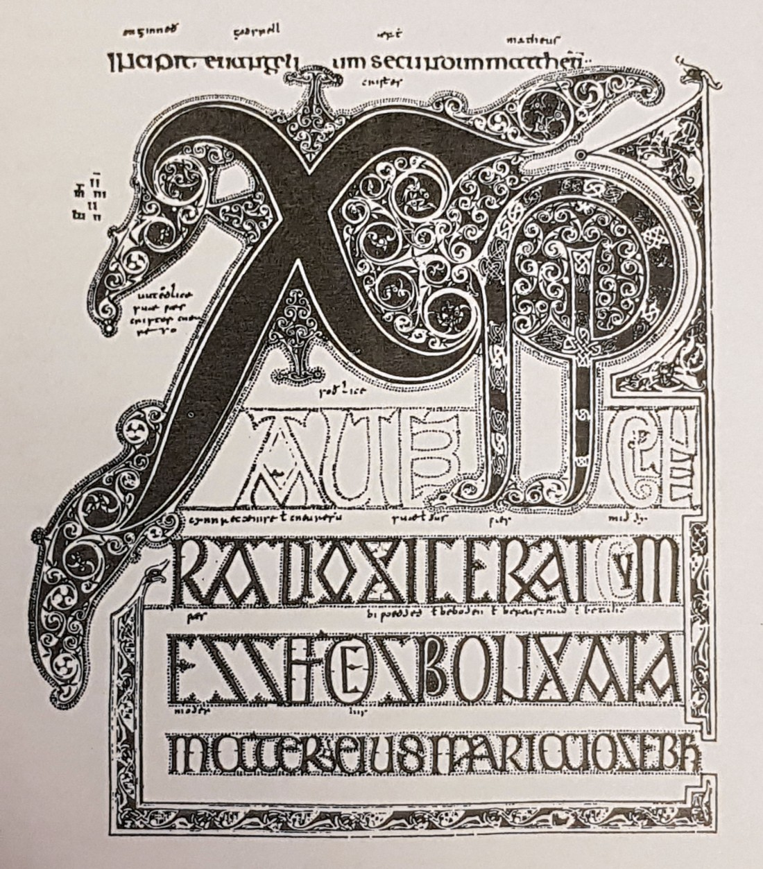Northumbrian Age Lindisfarne Gospel