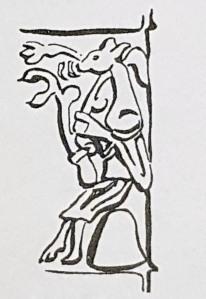 Northumbrian Age man animal head