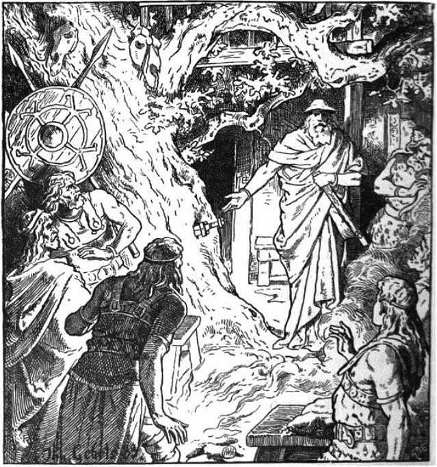 Sigmund's Sword by Johannes Gehrts (1889)