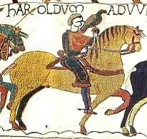 Bayeux Tapestry Scene 13 (cropped)