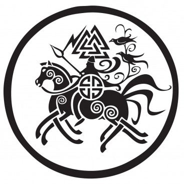 odin-on-sleipnir-car-sticker