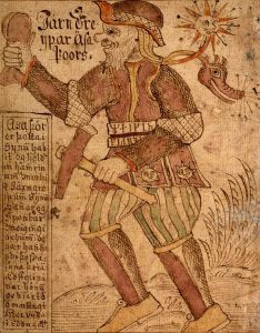 Thor (From the 18th century Icelandic manuscript SÁM 66)
