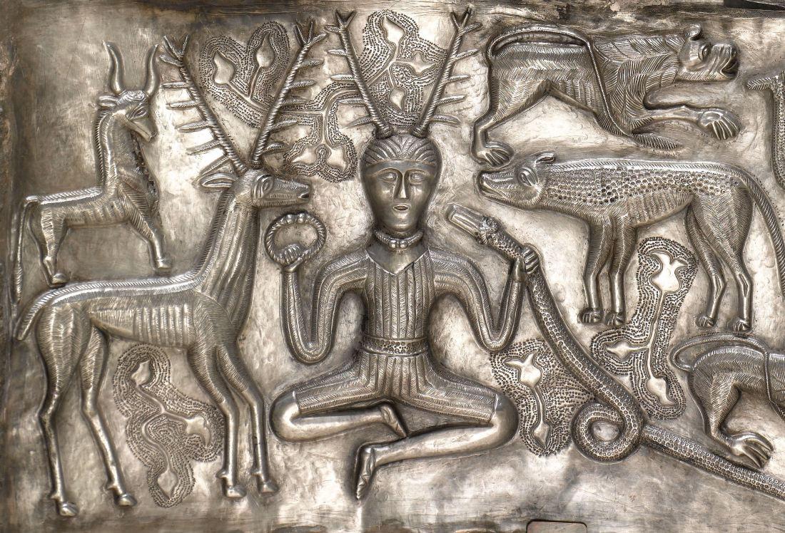 Cernunnos, the Horned God, from the Gundestrup Cauldron